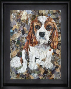 The bespoke pet collage company - dog collage spaniel